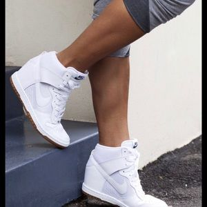 Nike women's wedge sneakers